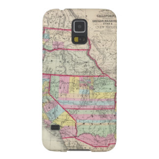 California, Oregon, Washington, Utah, New Mexico Galaxy S5 Covers