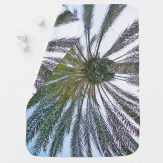 California Palm Tree Baby Blanket