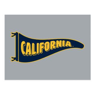 California Pennant | Cal Berkeley 5 Postcard