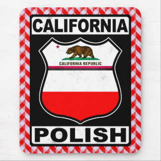 California Polish American Mousemat Mouse Pad