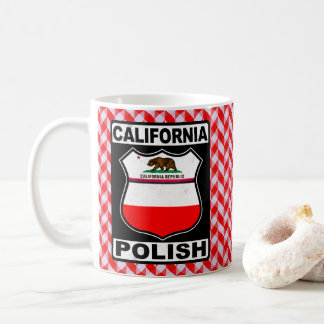 California Polish American Mug