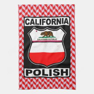 California Polish American Tea Towels