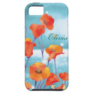 California Poppies Floral iPhone 5 Case-Mate Vibe