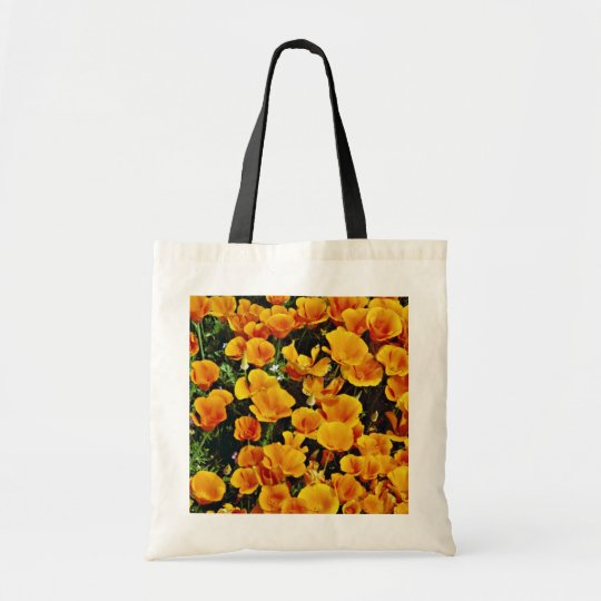 California poppies in bloom, Lancaster, California Tote Bag