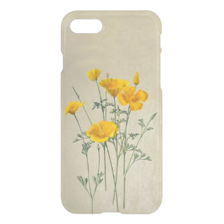 California Poppies iPhone 7 Clear Case
