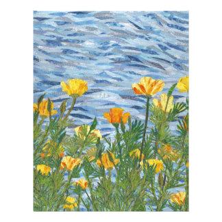 California Poppies Letterhead