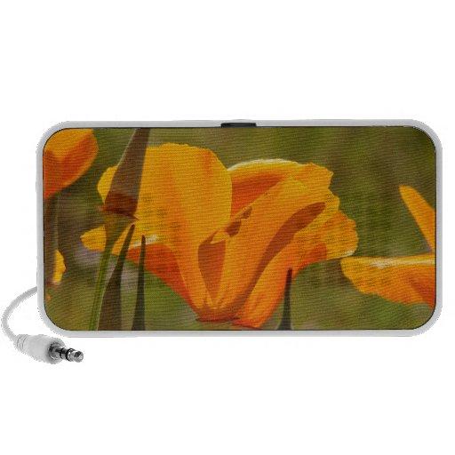 California Poppies OrigAudio Doodle Speaker