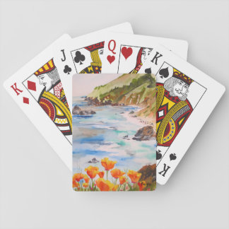 California Poppies Playing cards