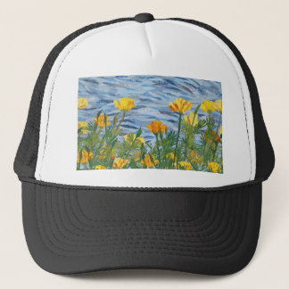 California Poppies Trucker Hat