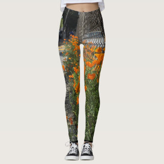 California Poppy 2 on your Leggings
