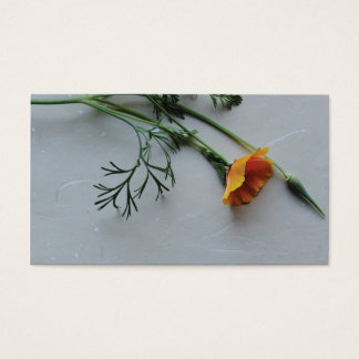 California poppy business card
