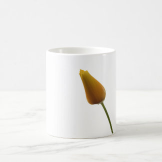 California Poppy Closed Flower Coffee Mug