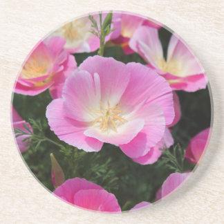 California Poppy Coaster