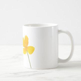 California Poppy Flower Coffee Mug
