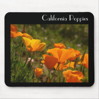 California Poppy Flower Mousepad