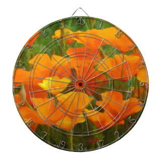 california poppy impasto dartboard