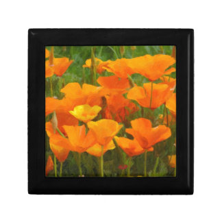 california poppy impasto gift box