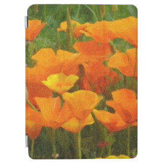 california poppy impasto iPad air cover