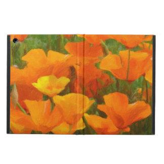 california poppy impasto iPad air cover