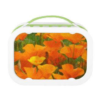 california poppy impasto lunch box
