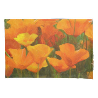 california poppy impasto pillowcase