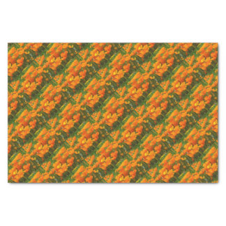 california poppy impasto tissue paper