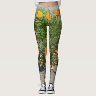 California Poppy on your Leggings