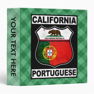 California Portuguese American Binder