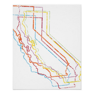 california pride blur poster