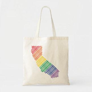 California Rainbow State Tote Bag