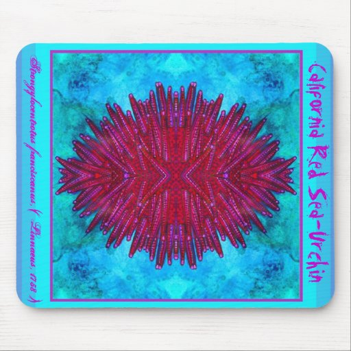 California Red Sea-Urchin Mouse Pads