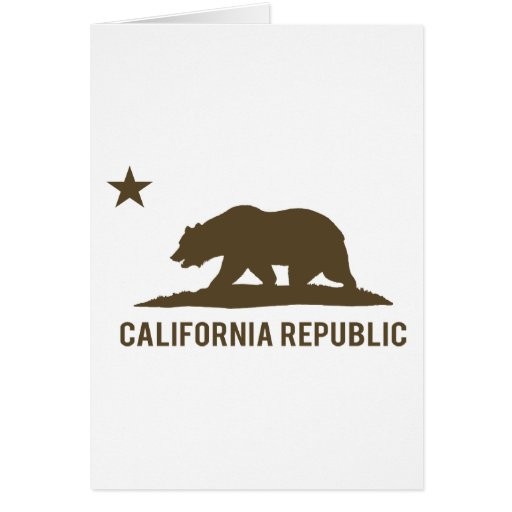 California Republic - Basic - Brown Card