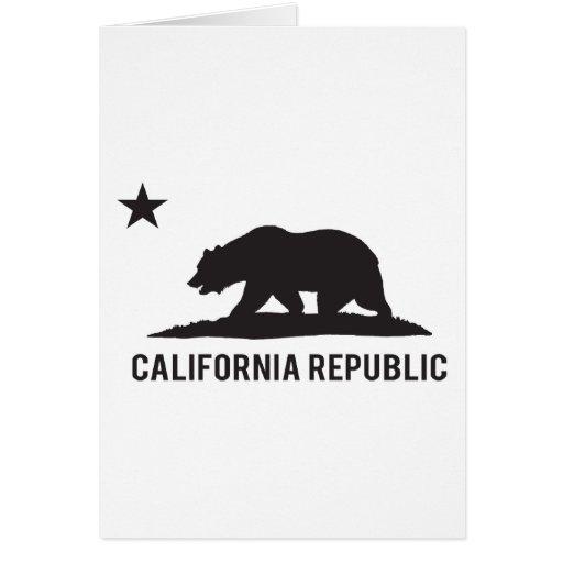 California Republic - Basic Greeting Card