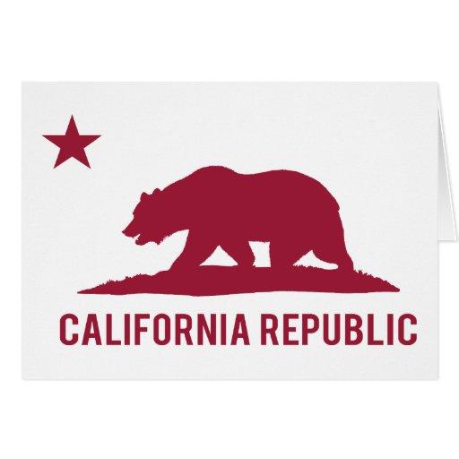 California Republic - Basic - Red Card