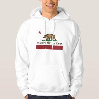 California Republic Bear Flag Belmont Shores Hoodie