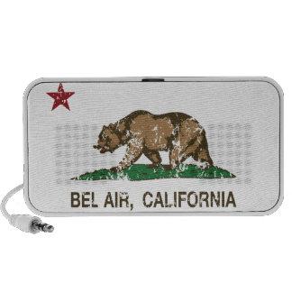 California Republic Bel Air Flag Mp3 Speakers