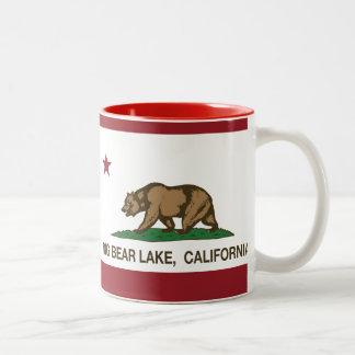 California Republic Big Bear Lake Two-Tone Coffee Mug