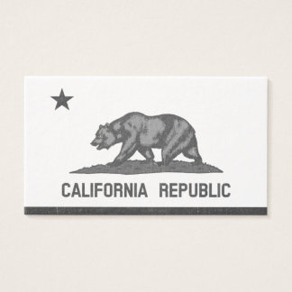 California Republic (Black) Business Card