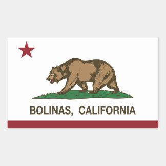 California Republic Flag Bolinas Sticker