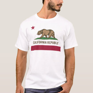 California Republic Flag - Color T-Shirt