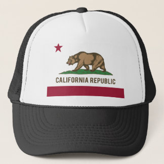 California Republic Flag - Color Trucker Hat