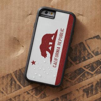 California Republic Flag Damask Pattern Tough Xtreme iPhone 6 Case