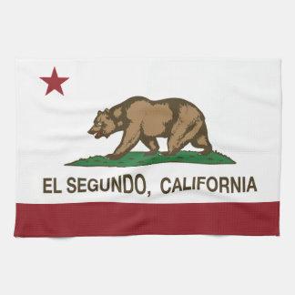 California Republic Flag El Segundo Towel