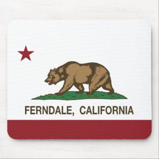 California Republic Flag Ferndale Mouse Pad