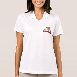 California Republic Flag Ferndale Polo Shirt