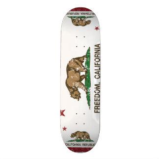California Republic Flag Freedom Skateboards