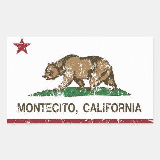 California Republic Flag Montecito Sticker