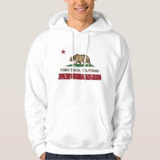 California Republic Flag Pismo Beach Hoodie