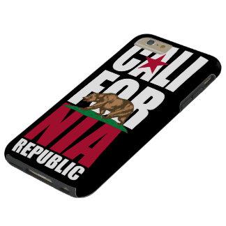 California Republic Flag Tough iPhone 6 Plus Case