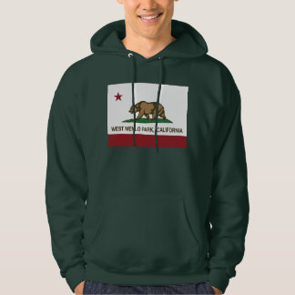 California Republic Flag West Menlo Park Hoodie